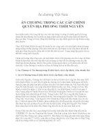 Ấn chương Việt Nam - ẤN CHUƠNG TRONG CÁC CẤP CHÍNH QUYỀN ĐỊA PHUƠNG THỜI NGUYỄN pdf