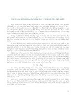 Giáo trình DỰ BÁO THỦY VĂN BIỂN - Chương 6 pps