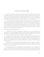 Giáo trình DỰ BÁO THỦY VĂN BIỂN - Chương 5 potx