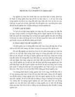 PHƯƠNG PHÁP LUẬN NGHIÊN CỨU KHOA HỌC PHẦN 4 docx