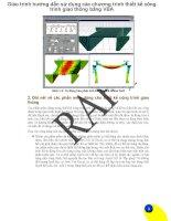 Giáo trình hướng dẫn sử dụng các chương trình thiết kế công trình giao thông bằng VBA phần 1 pdf