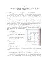 GIÁO TRÌNH THÍ NGHIỆM GỐM SỬ - BÀI 5 XÁC ĐỊNH KHỐI LƯỢNG RIÊNG, KHỐI LƯỢNG THỂ TÍCH, ĐỘ XỐP VÀ ĐỘ HÚT NƯỚC doc