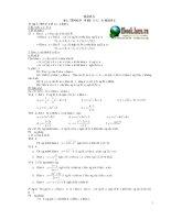 Chuyên đề toán lớp 12 THPT