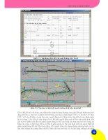 Giáo trình hướng dẫn sử dụng các chương trình thiết kế công trình giao thông bằng VBA phần 3 docx