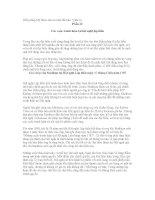Hiến pháp Mỹ được làm ra như thế nào - bài 3: Các cuộc tranh luận tại hội nghị lập hiến docx