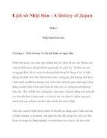 Lịch sử Nhật Bản - A history of Japan_1 pdf