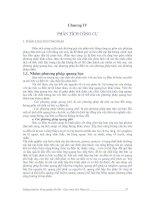 Giáo trình hóa phân tích - Chương 4 Phân tích công cụ docx