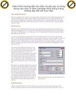 Giáo trình hướng dẫn tìm hiểu về cấu tạo và công dụng của máy in theo catridge định dạng mạng không dây kết nối trực tiếp p1 potx