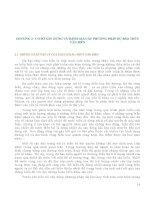 Giáo trình DỰ BÁO THỦY VĂN BIỂN - Chương 2 ppt