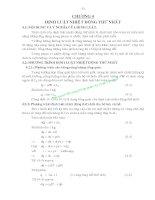 Giáo trình nhiệt động lực học kyc thuật - Chương 4 pps