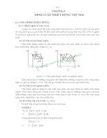 Giáo trình nhiệt động lực học kyc thuật - Chương 6 pot