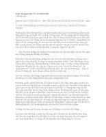 Lược sử ngoại giao VN các thời trước - Chương năm: NGOẠI GIAO THỜI LÊ LỢI - NGUYỄN TRÃI CHỐNG QUÂN MINH ĐÔ HỘ - phần 5 V. HỘI THỀ ĐÔNG QUAN BẮT HÀNG MƯỜI VẠN GIẶC, CHẤM DỨT CHIẾN TRANH pot