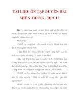 TÀI LIỆU ÔN TẬP DUYÊN HẢI MIỀN TRUNG - ĐỊA 12_1 docx