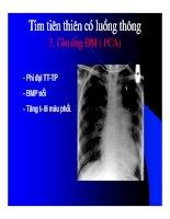 Thực hành x quang tim mạch part 6 pps