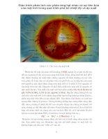 Giáo trình phân tích các phản ứng hạt nhân và sự tiến hóa của mặt trời trong quá trình phâ bố nhiệt độ và áp suất p1 doc