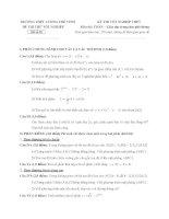 đề thi thử tốt nghiệp thpt môn toán - thpt lương thế vinh đề (19)