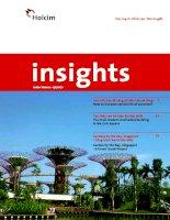 insights holcim việt nam quý 1 năm 2013 làm thế nào tăng độ bền bê tông tòa tháp cao hiện đại bậc nhất gardens by the bay singapore công trình xanh tiêu biểu