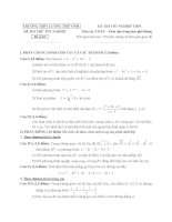 đề thi thử tốt nghiệp thpt môn toán - thpt lương thế vinh đề (17)
