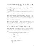 Giáo trình tổng hợp các dạng bài tập về hệ thống nén khí phần 1 ppsx