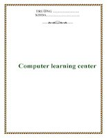 COMPUTER LEARNING CENTER: Môn học PHP pot