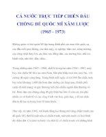 CẢ NƯỚC TRỰC TIẾP CHIẾN ĐẤU CHỐNG ĐẾ QUỐC MĨ XÂM LƯỢC (1965 - 1973_2 pps