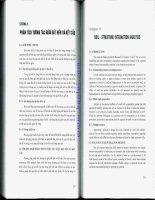 Giáo trình THIẾT KẾ CỌC VÁN THÉP - Chương 8 pps
