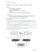 BÀI GIẢNG ĐIỀU KHIỂN LẬP TRÌNH 1 - CHƯƠNG 2: CẤU TRÚC VÀ HOẠT ĐỘNG CỦA PLC pptx