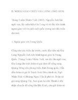 NGOẠI GIAO TRIỀU GIA LONG (1802-1819) doc