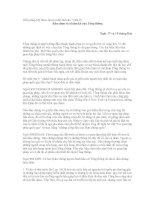 Hiến pháp Mỹ được làm ra như thế nào ? - [bài 9] Bầu chọn và nhiệm kỳ của Tổng thống pdf