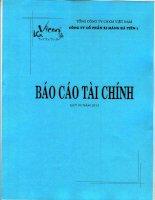 CÔNG TY cổ PHẦN XI MĂNG hà TIÊN 1 báo cáo tài CHÍNH quý 3 năm 2013