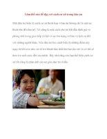 Giáo dục kỹ năng sống mầm non: Làm thế nào để dạy trẻ cách cư xử trong bàn ăn ppt