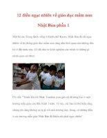 12 điều ngạc nhiên về giáo dục mầm non Nhật Bản phần 1 pps