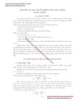 GIÁO TRÌNH MÁY ĐIỆN II - PHẦN III CÁC VẤN ĐỀ LÍ LUẬN CHUNG CỦA MÁY ĐIỆN XOAY CHIỀU - CHƯƠNG 2 pps