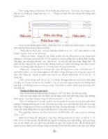 CƠ SỞ LÝ THUYẾT VÀ NGUYÊN LÝ CẮT GỌT KIM LOẠI part 7 ppt
