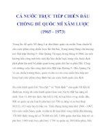 CẢ NƯỚC TRỰC TIẾP CHIẾN ĐẤU CHỐNG ĐẾ QUỐC MĨ XÂM LƯỢC (1965 - 1973)_3 pdf