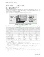 BÀI GIẢNG ĐIỀU KHIỂN LẬP TRÌNH 1 - CHƯƠNG 6: PLC S7 – 200 pps