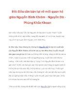 Đôi điều cần bàn lại về mối quan hệ giữa Nguyễn Bỉnh Khiêm - Nguyễn Dữ_4 docx