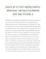 GIAI CẤP TƯ SẢN TRONG PHONG TRÀO ĐẤU TRANH GIẢI PHÓNG DÂN TỘC Ở CHÂU Á_4 docx