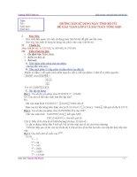 Hướng dẫn sử dụng máy tính bỏ túi để giải toán lớp 6 và bài toán tổng hợp