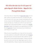 Đôi điều cần bàn lại về mối quan hệ giữa Nguyễn Bỉnh Khiêm - Nguyễn Dữ_5 ppsx