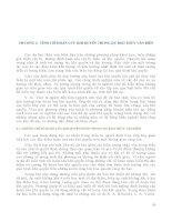 Giáo trình DỰ BÁO THỦY VĂN BIỂN - Chương 3 pdf