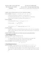 đề thi thử tốt nghiệp thpt môn toán - thpt lương thế vinh đề (14)