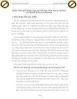 Giáo trình giới thiệu nguyên tắc lập trình trong access với blank access database p1 pdf