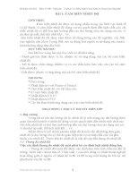 Giáo trình kỹ thuật cảm biến - Bài 1 ppt