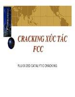 CRACKING XÚC TÁC FCC pps