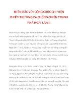 MIỀN BẮC VỚI CÔNG CUỘC CHI VIỆN CHIẾN TRƯỜNG VÀ CHỐNG CHIẾN TRANH PHÁ HỌAI LẦN II_2 pdf