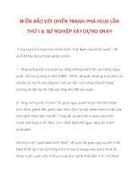 MIỀN BẮC VỚI CHIẾN TRANH PHÁ HOẠI LẦN THỨ I & SỰ NGHIỆP XÂY DỰNG CNXH_2 pot