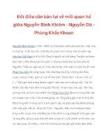 Đôi điều cần bàn lại về mối quan hệ giữa Nguyễn Bỉnh Khiêm - Nguyễn Dữ_1 pps