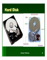 Cấu trúc máy tính và lập trình Assembly : Input /Output Devices part 10 ppsx