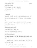 Giáo án hình học lớp 7 - Tiết 38: Luyện tập 1 docx